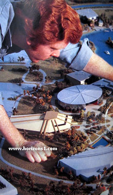 Horizons At Epcot Center Timeline